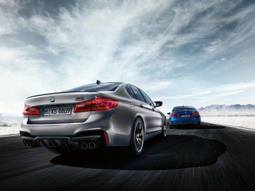 El interior del BMW M5 Competition