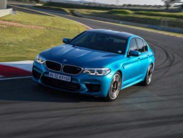 BMW M5 con nuevos colores