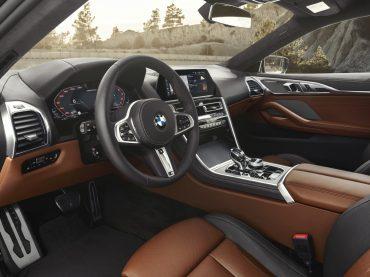 Interior del nuevo BMW Serie 8 Coupé