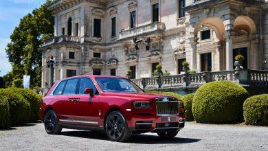 Rolls-Royce Cullinan en Villa d'Este