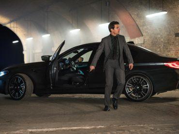 Ethan Hunt al volante de un BMW