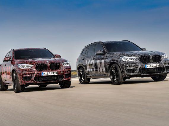 Presentación de los BMW X3 y X4 serie M