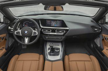 Interior del Nuevo BMW Z4