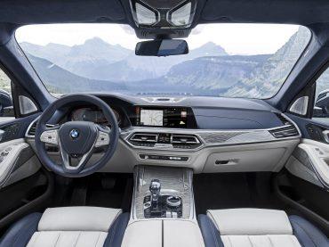 El interior del BMW X7