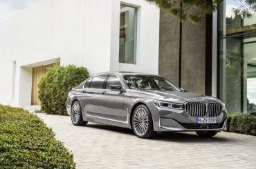 Primeros vídeos del BMW Serie 7 2019