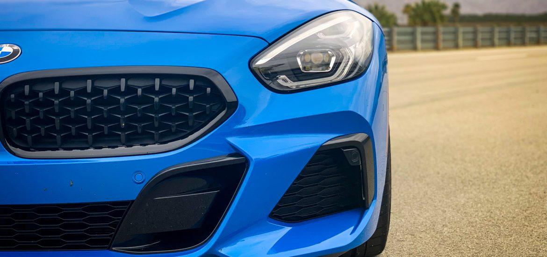 El Nuevo BMW Z4 en azul Misano