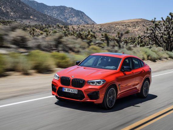 El nuevo BMW X4 M