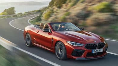 He aquí el nuevo BMW M8 Competition Cabrio