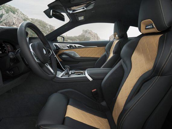 El interior del Nuevo BMW M8 Coupé