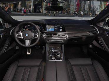 El interior del Nuevo BMW X6