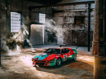 40 años del BMW M1 Art Car