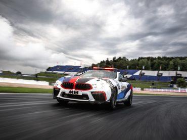 BMW M8 MotoGP Safety Car – nuevo y listo para estrenar