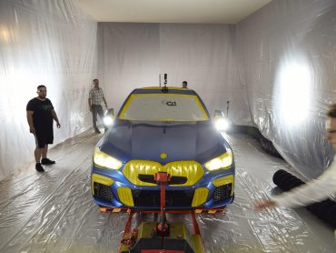 Cómo se pintó el BMW X6 Vantablack